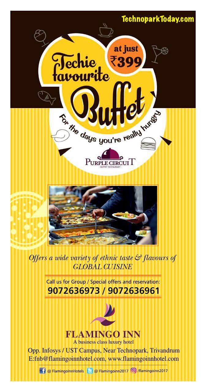 Buffet near technopark