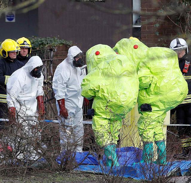 Mais de 60 pessoas envenenadas na área do crime