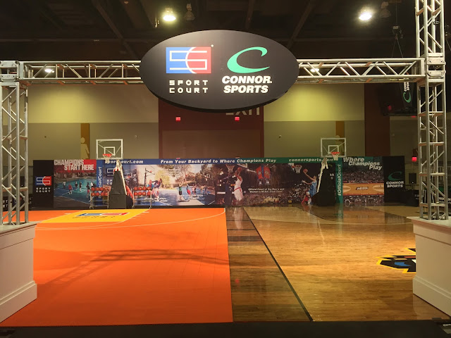 Sport Court at the Final Four Fan Fest!