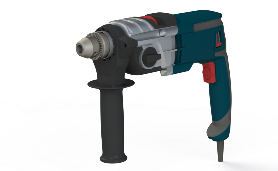 Bosch Hammer Drill Hammer Download Free 3d Cad Models