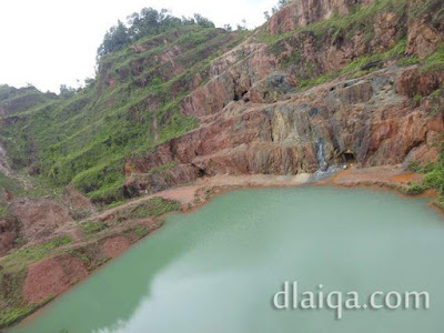 Open Pit Kelapa Kampit, Belitung