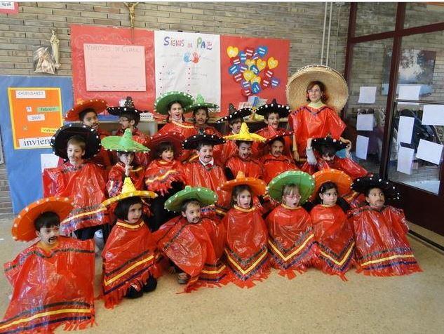 disfraz de mexicano para escolares