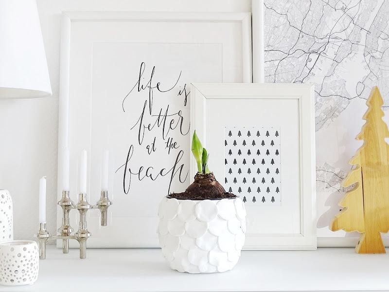 Blumentöpfe mit Modelliermasse aufhübschen - 12 DIY-Nachmach-Ideen, Deko-Inspirationen und Rezepte für den November - https://mammilade.blogspot.de