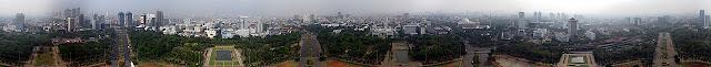 Monas atau Monument National di dirikan pada masa Presiden Soekarno pada tanggal Wisata Monas (Monument National) di Jakarta Pusat
