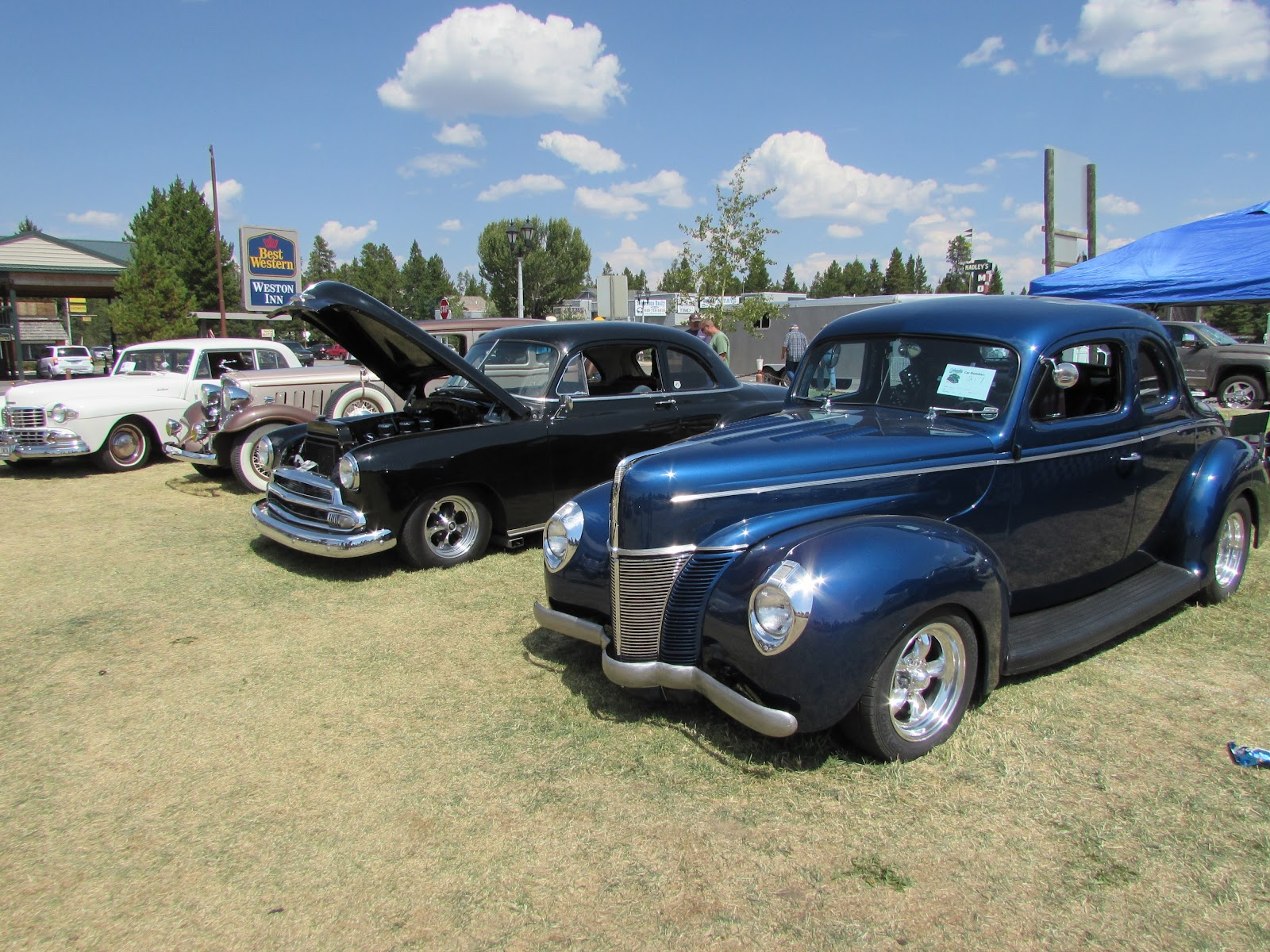 West Yellowstone Car Show