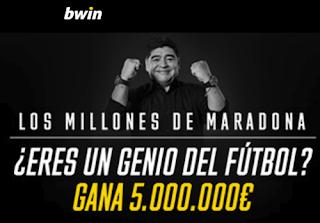 bwin promocion los millones de maradona