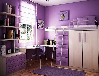 7 Teenage Girl Bedroom Ideas for Small Rooms ~ Small Bedroom on Small Teenage Bedroom  id=20040