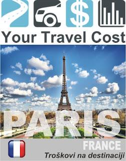 Pariz, Francuska – Trošak