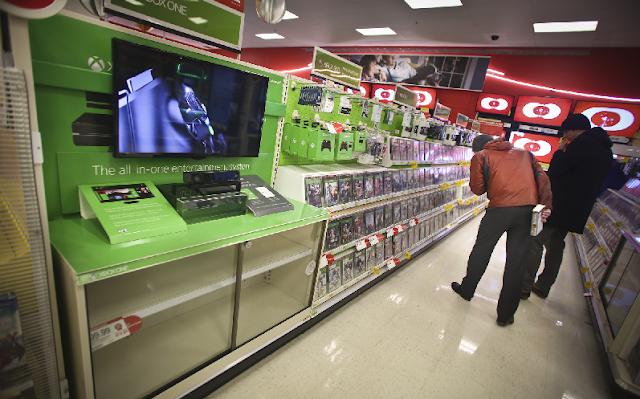 Lojas Target e sua sessão de eletrônicos