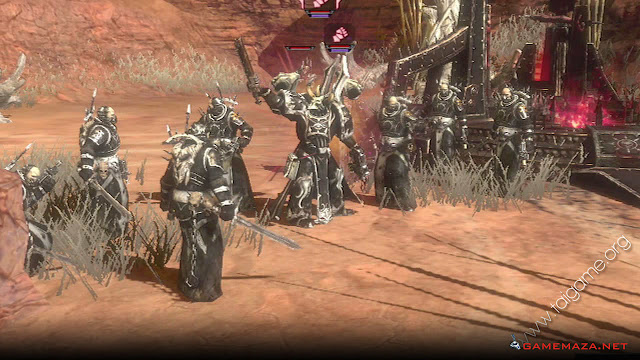 Warhammer 40000 Dawn of War II Chaos Rising Gameplay Screenshot 3