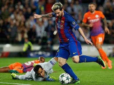 Phong độ đáng sợ của Messi tại Champions League năm nay