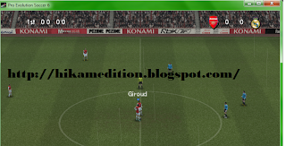 Download  PES 6 (Pro Evolution Soccer 6) + Update Pemain Terbaru 100% Working