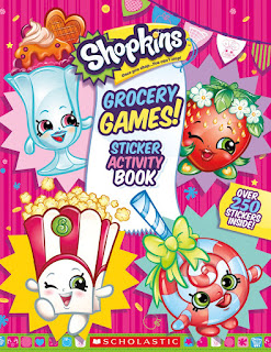 Shopkins: Grocery Games! Sticker Activity Book