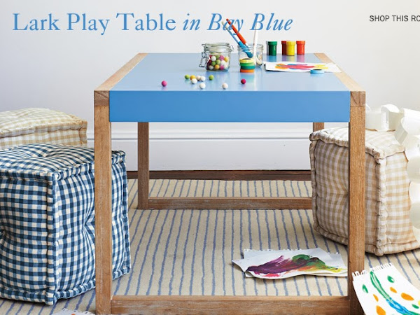 a stylish & affordable kids play table