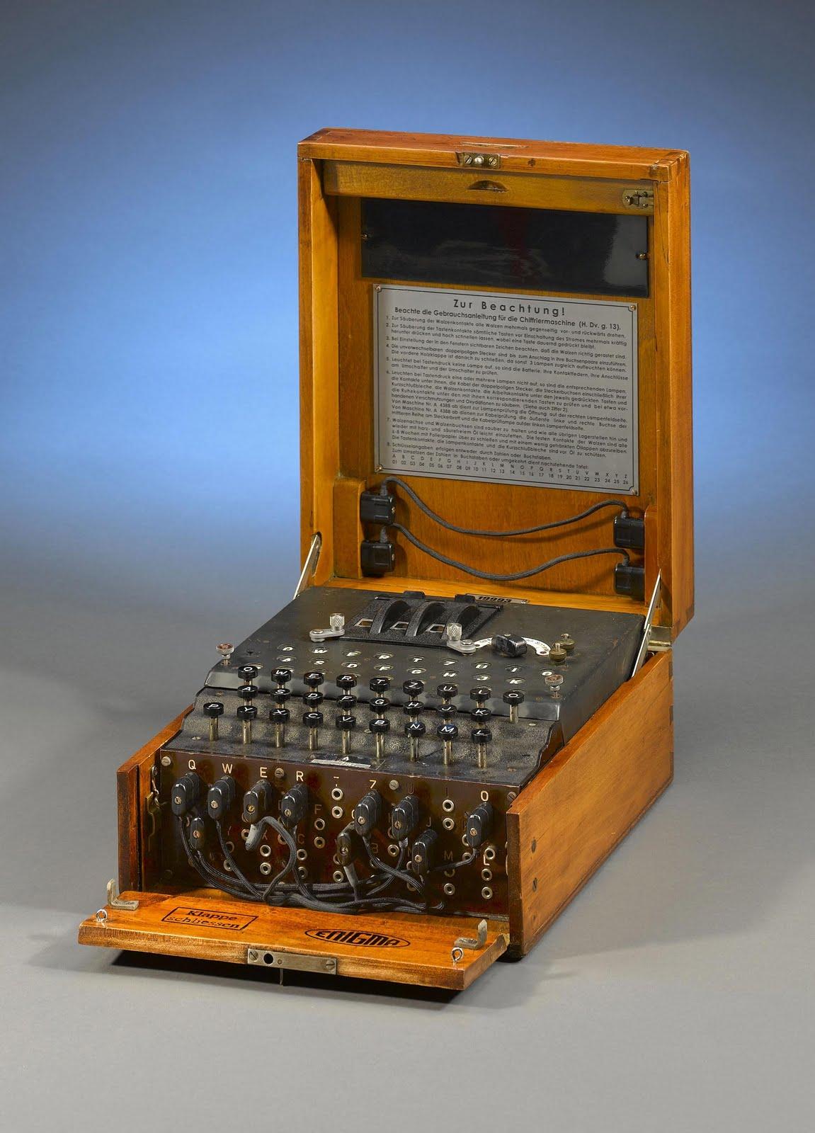 ushproject/VenessaL: Enigma machine WW2