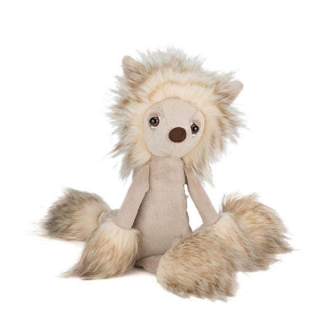 Chinese crested dog Chi Chi from Jellycat