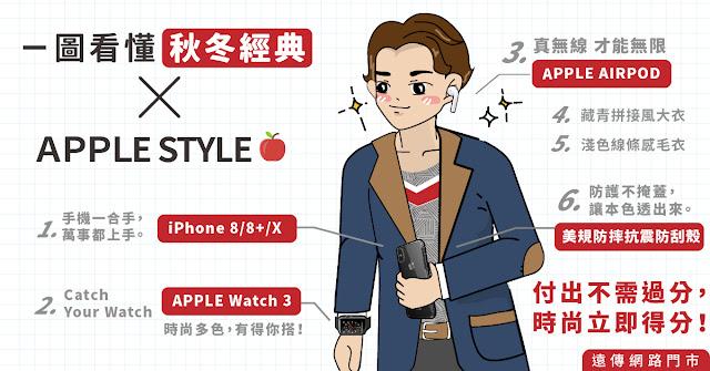 一圖看懂秋冬經典 Apple Style
