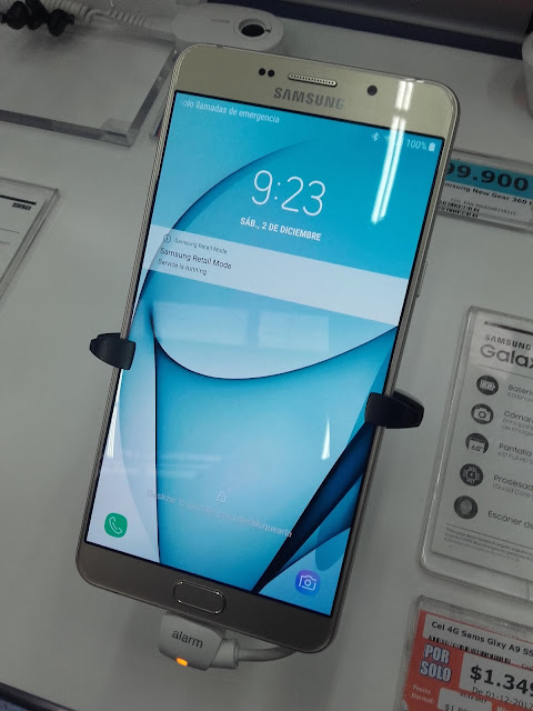Samsung Galaxy A9's Specifications Leak to be Launched on October 11