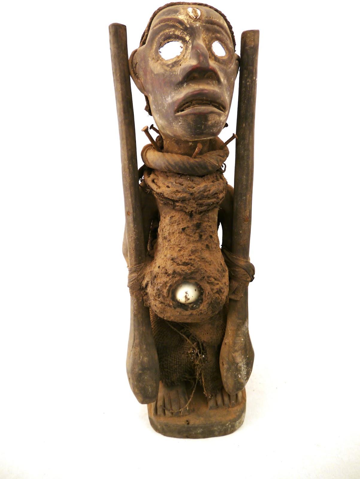 afrikanische kunst fetisch nagelfetisch kaufen bei lehmex import export. Black Bedroom Furniture Sets. Home Design Ideas