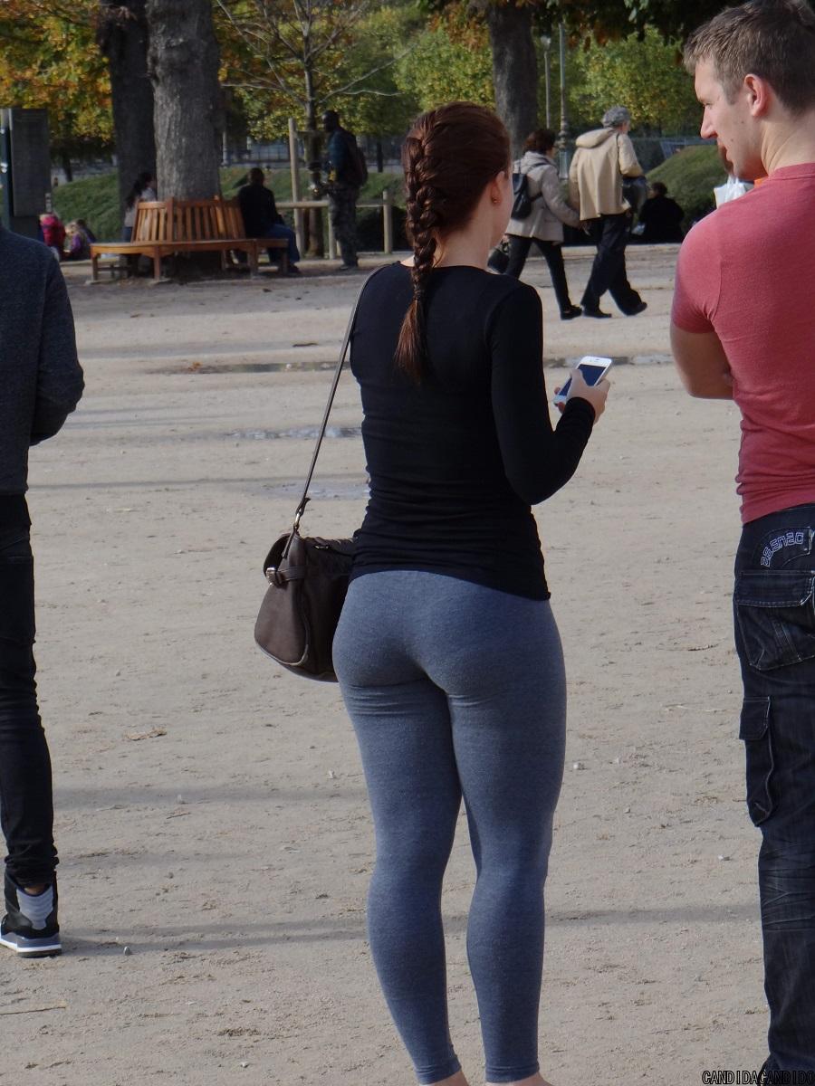 Big Ass Fat Dress Tight Voyeur Candid Street