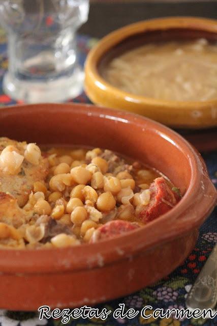 Cocido madrileño en crockpot