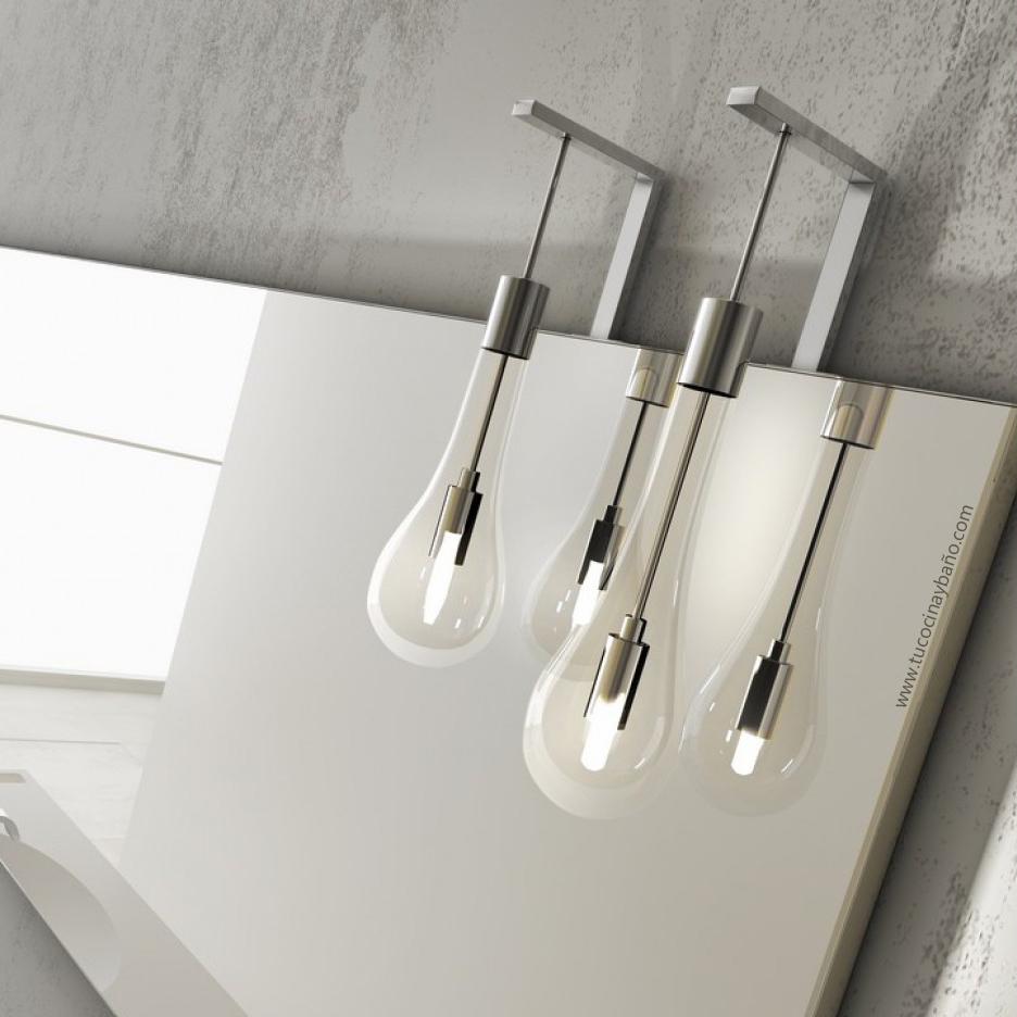 Led ba o colgante dise o tu cocina y ba o - Iluminacion para espejos de bano ...