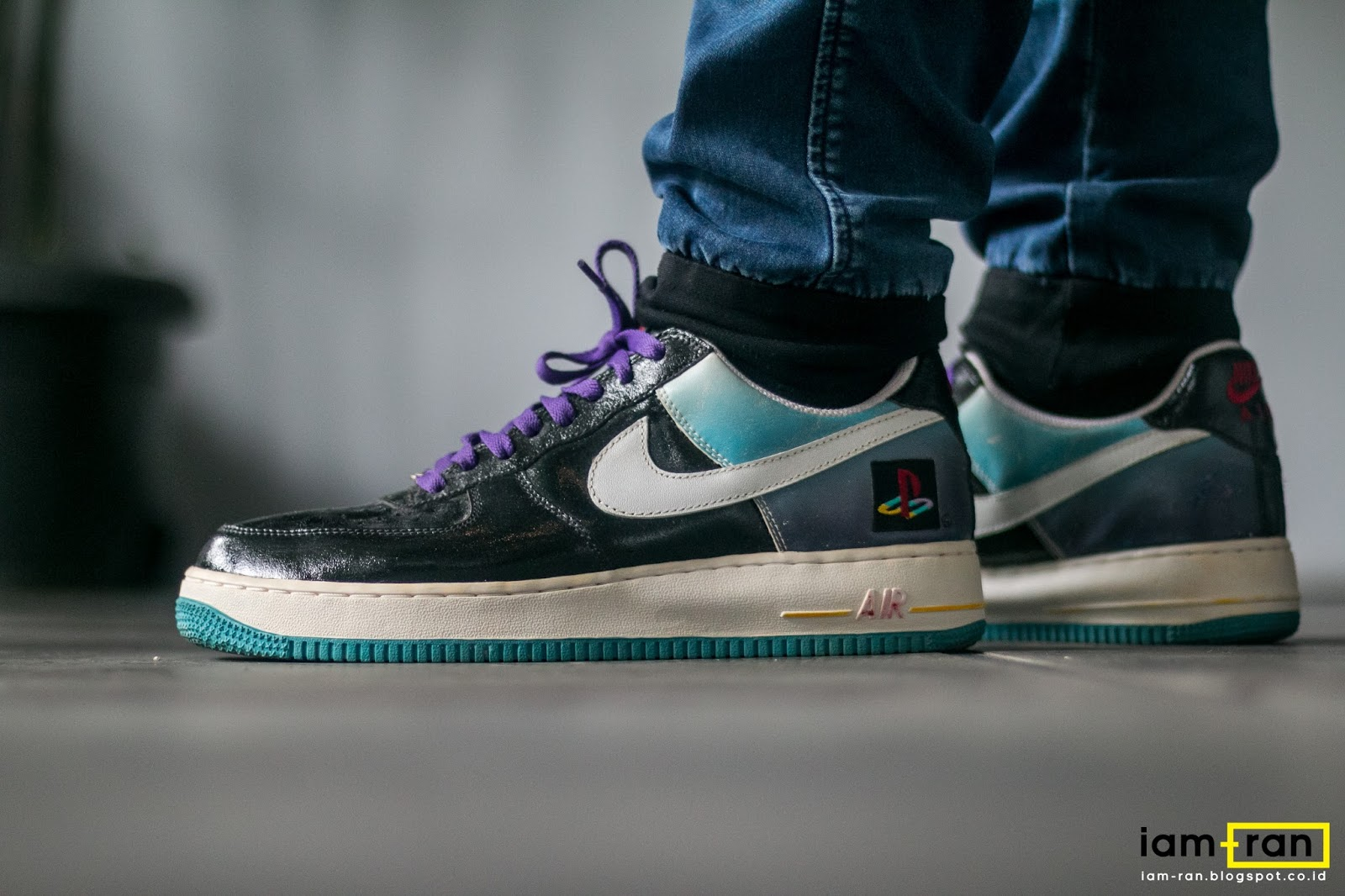 ON FEET : Winston - Nike Air Force 1 X Playstation