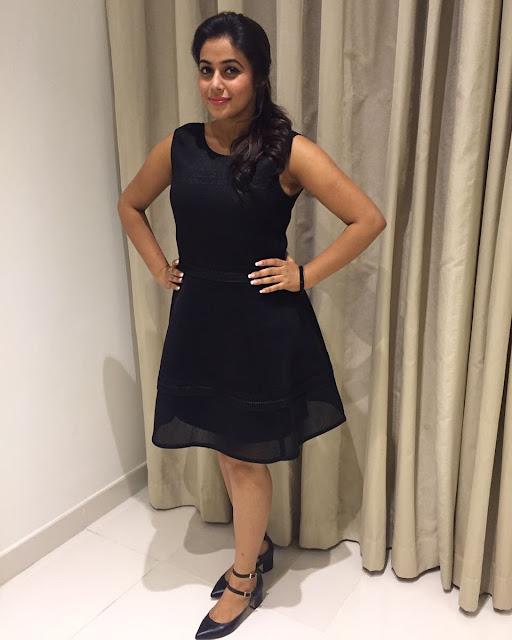 Actress Poorna at Jayammu Nischayammura premiere show