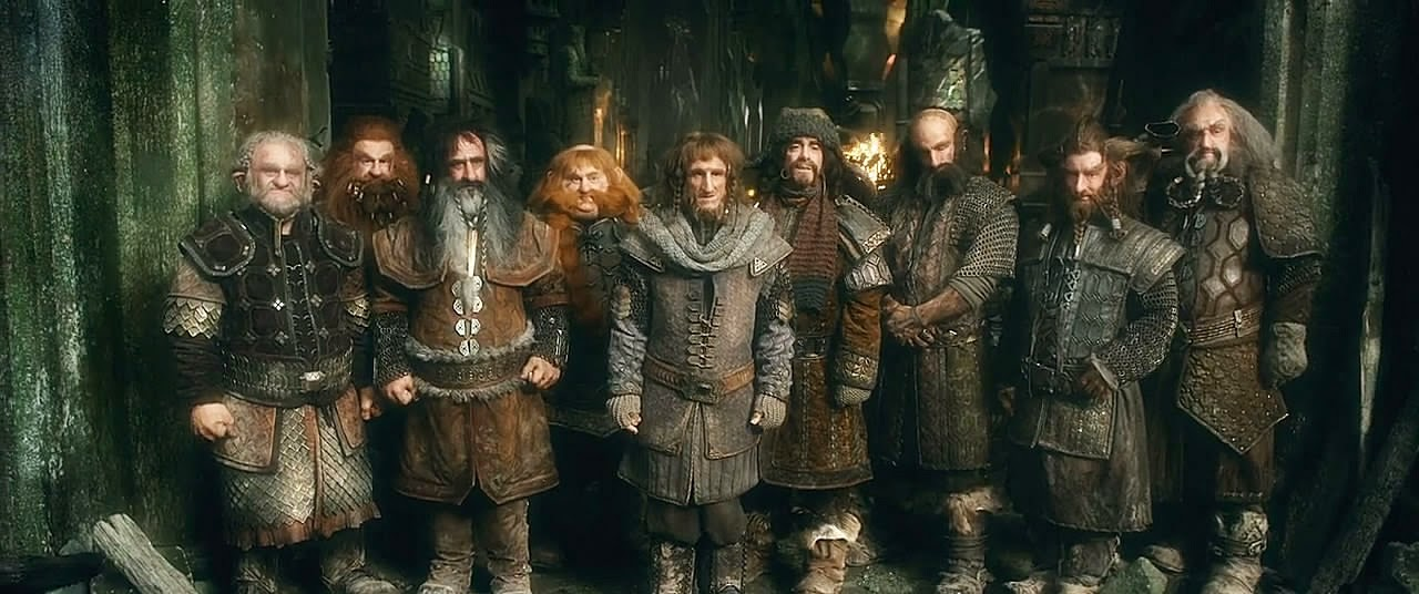 Dwarves, cast of The Hobbit movie
