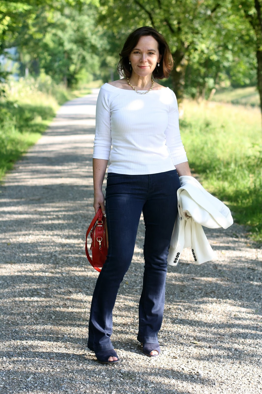 The Marks and Spencer white top challange