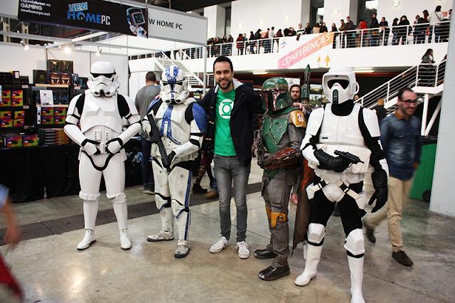 cosplays de soldados imperiales de Star Wars