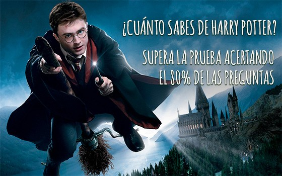 ¿Cuánto sabes de Harry Potter?