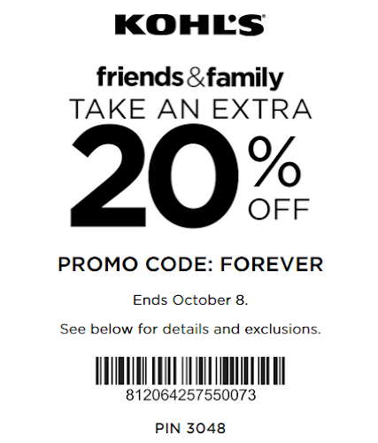 Kohl's Yes Pass Coupon: Save 20% OFF Sitewide October 2018
