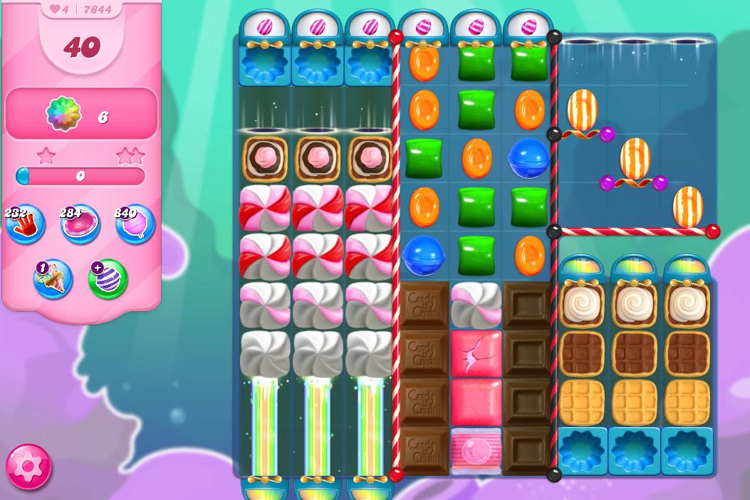 Candy Crush Saga level 7644