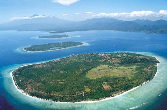 Pulau Lombok merupakan salah satu pulau yang mempunyai keindahan alam yang menarik Trio Gili, Keindahan Alam Yang Menyihir Wisatawan