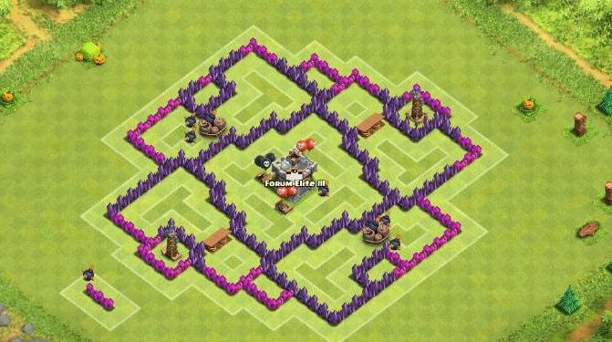 Base Coc Th 7 Mentok Terkuat 11