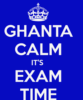 ghanta calm it's exam time whatsapp dp and profile pic