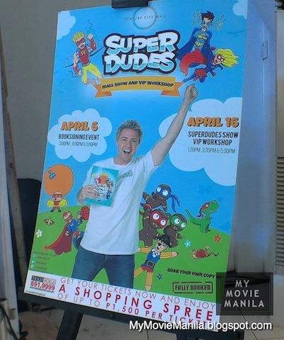 Superdudes Mall Show & VIP Workshop