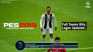 PES 2019 Mobile Android Patch Full Teams Kits,Logos Update