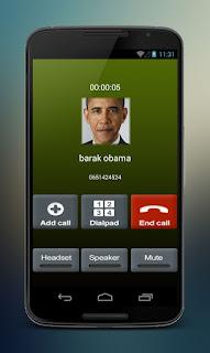 برنامج مكالمات وهمية للاندرويد مجاني