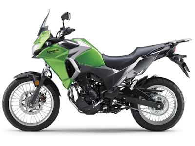 2017 Kawasaki Versys-X 300 Left side view image