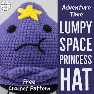 Lumpy Space Princess Hat - Free Crochet Pattern