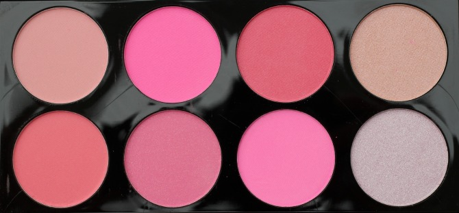 All about pink blush palette