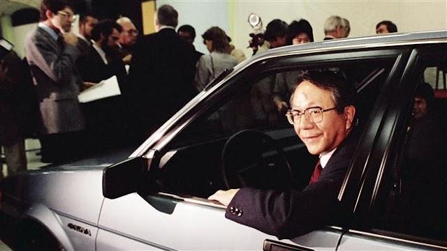 Former president Tatsuro Toyoda of Japan's Toyota dies at 88