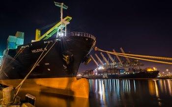 Wallpaper: Helen S Cargo Ship