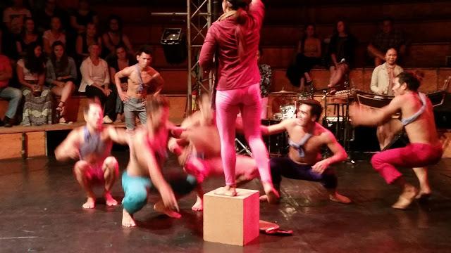 Zirkuszelt in Siam Reap