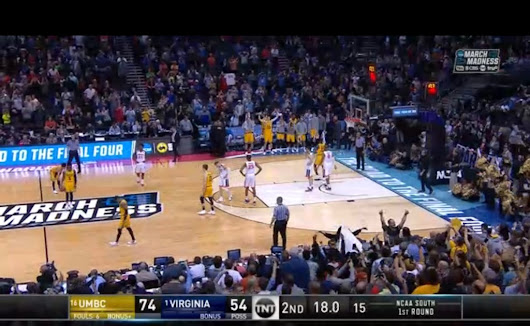 #16 UMBC Beat #1 Virginia in NCAA Tourney 2018