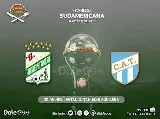 Oriente Petrolero vs Atlético Tucumán - Copa Conmebol Sudamericana - Super Milaneza - DaleOoo