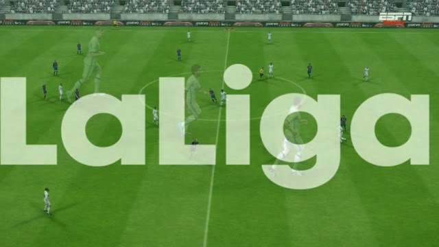 Replay Logo LaLiga and Premier League PES 2018