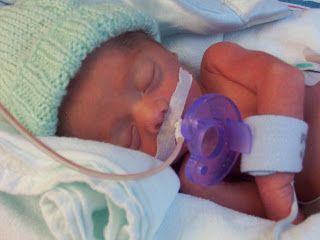 My son was premature and weighed 3lb. 11oz. at birth.
